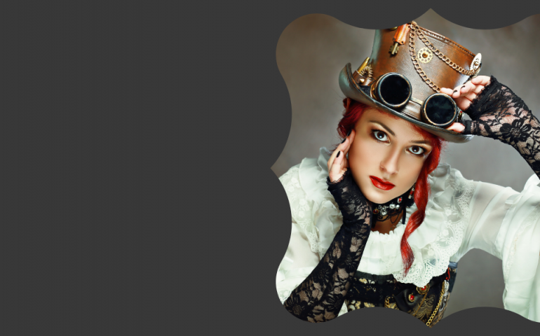 Kay Patterson dabbles with steampunk
