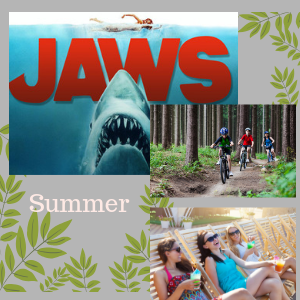 using the season of summer and summer fun in movies