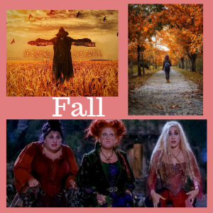 using elements of Fall in movies, like Hocus Pocus or Jeepers Creepers