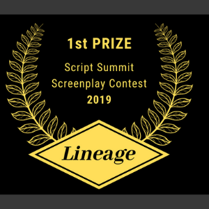 Thriller screenplay, Lineage, wins first place