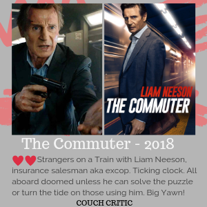 Review of 2018 The Commuter movie