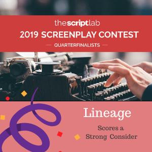 TSL Screenplay Quarter Finalist