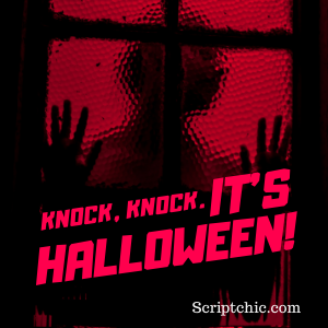 Happy Halloween from scriptchic.com