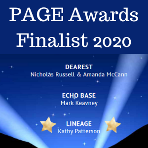 Thriller screenplay Lineage by Kathy Patterson a PAGE Awards Finalist 2020