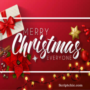Merry Christmas from Scriptchic, Kathy Patterson