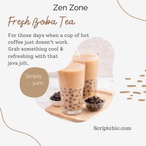 Fresh Boba Tea